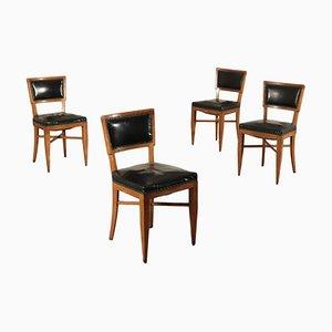 Esszimmerstühle, 1940er, 4er Set
