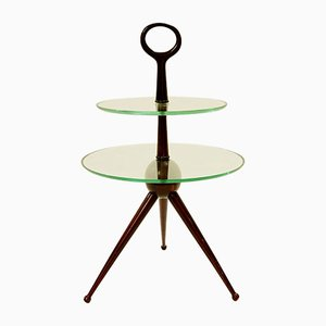 Vintage Italian Tripod Side Table by Cesare Lacca, 1950s