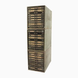 Filing Cabinet from Kardex, 1960s, Set of 3