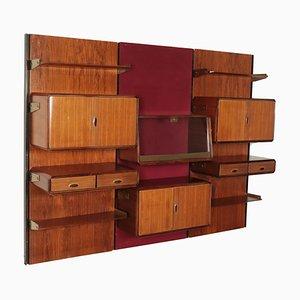 Librería de palisandro, años 60