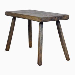 Tavolino da macellaio in quercia, Ungheria, anni '30