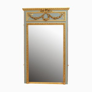 Antique Trumeau Mirror