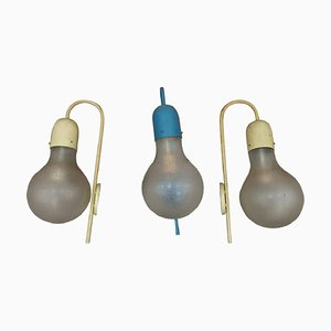 Mid-Century Sconces from Stilux Milano, 1950s, Set of 3