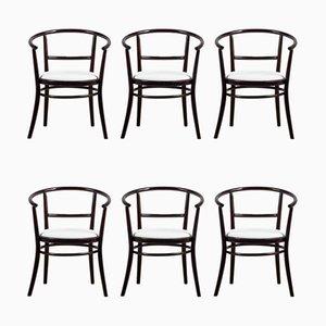 Esszimmerstühle aus Buche von TON, 1970er, 6er Set