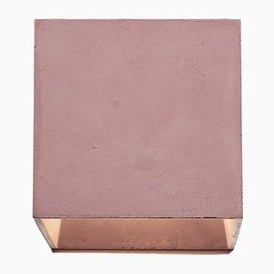 Lampada da parete Cromia bordeaux di Plato Design