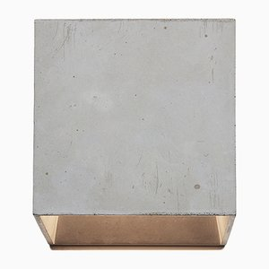 Cromia Wall Lamp in Grey from Plato Design