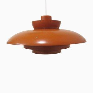 Lámpara colgante de Johannes Hammerborg, años 60