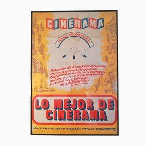 Póster Cinerama vintage