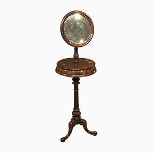 Mueble de afeitado antiguo victoriano de caoba