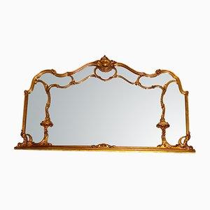 Spiegel mit Rahmen aus Holz, 19. Jh.