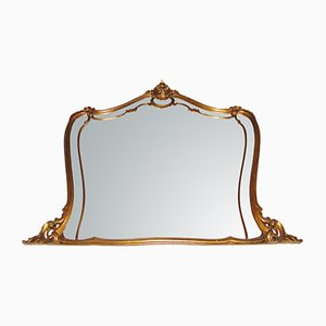 19th Century Wooden Frame Mirror