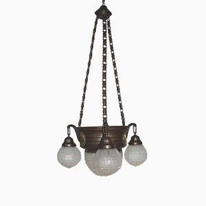 Lámpara de araña moderna, década de 1900