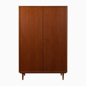German Teak Veneer Wardrobe from Musterring International, 1950s