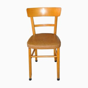 Hungarian Leatherette Dining Chair, 1960s