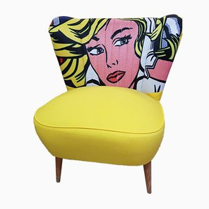 Pop Art Clubsessel, 1950er