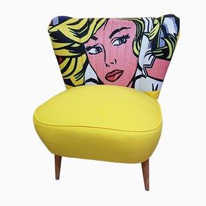 Sillón Club Pop Art, años 50