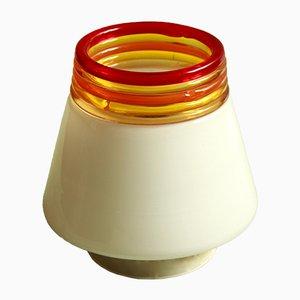 Lámpara de techo italiana de Renato Toso & Roberto Pamio para Leucos, años 70