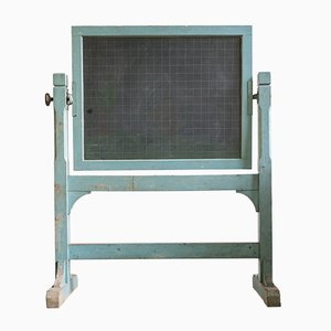 Vintage Slate Blackboard, 1950s