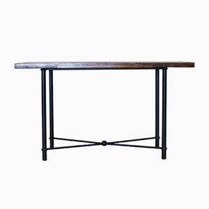 Industrial Console Table, 1970s