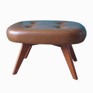 Vintage Danish Fawn Footstool, 1960s