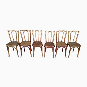 Vintage Bistro Chairs from Luterma, 1930s, Set of 6