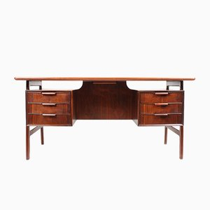 Rosewood Desk from Omann Jun, 1960s