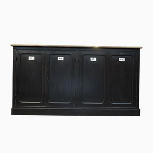 Vintage Black Fir Sideboard, 1930s