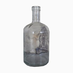 Clear Glass Bottle, 1950s