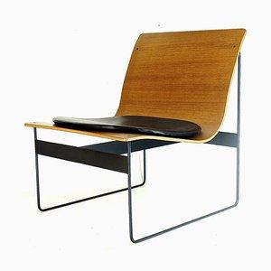 Sessel mit Sitz aus Schichtholz von Günter Renkel für Rego, 1950er
