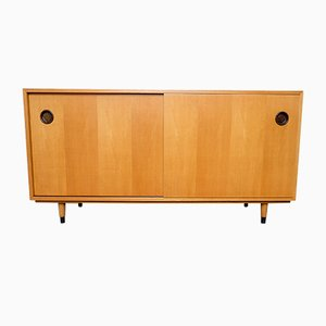 Elm Veneered Plywood Sideboard by Erich Stratmann for Oldenburger Möbelwerkstätten/Idee Möbel, 1950s