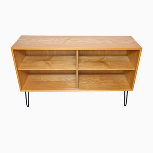 Elm Veneered Plywood Shelf by Erich Stratmann for Oldenburger Möbelwerkstätten / Idee Möbel, 1950s