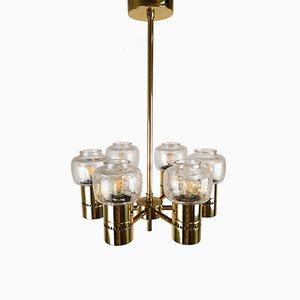 Mid-Century Swedish Chandelier by Hans-Agne Jakobsson for Markaryd, 1960s