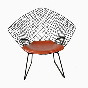 Vintage Diamond Lounge Chair by Harry Bertoia for Knoll Inc./Knoll International