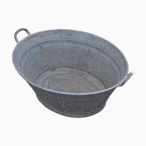 Hungarian Zinc Tub, 1960s