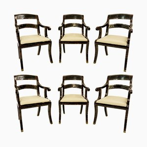 Vintage Armchairs from Maitland-Smith , Set of 6