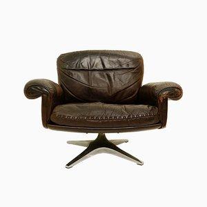 Drehbarer Vintage DS31 Sessel von de Sede, 1970er