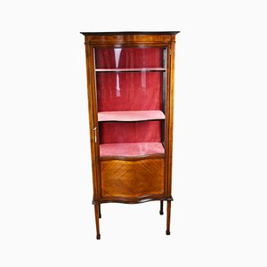 Edwardian Mahogany Display Cabinet, 1901