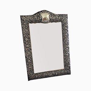 Specchio antico nero di Hallmarked Birmingham