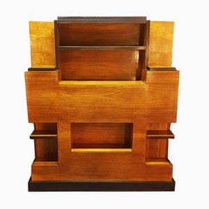 Modernist Art Deco Wall Unit, 1930s