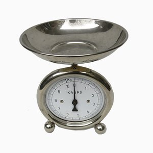 Bauhaus Chrome-Plated Kitchen Scale from Krups