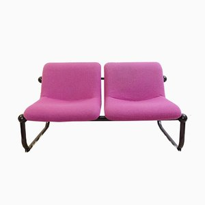 Vintage 2-Seater Sofa by Marc Held for Airborne, 1970s