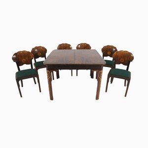 Art Deco Dining Set, 1920s