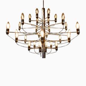 Lámpara de araña vintage de Gino Sarfatti para Arteluce Edition, 1958