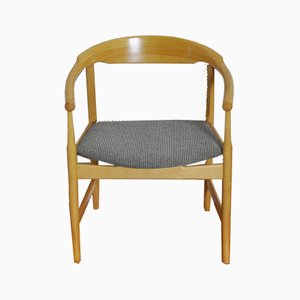 Danish Model PP208 Beech Armchair by Hans J. Wegner for PP Møbler, 1980s