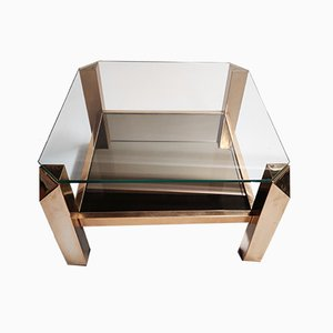 Table Basse Belgochrom 23kt de Belgo Chrom / Dewulf Selection, années 70