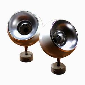 Eyeball Sconces by Hans-Agne Jakobsson, 1970s, Set of 2