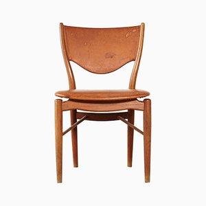 Chaise de Salon Modèle BO63 en Teck par Finn Juhl pour Bovirke, années 50