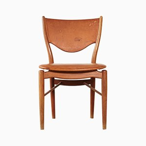 Danish Model BO63 Teak Dining Chair by Finn Juhl for Bovirke, 1950s