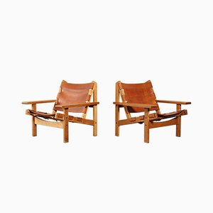 Danish Lounge Chairs by Kurt Østervig for K.P. Jørgensens Møbelfabrik, 1960s, Set of 2