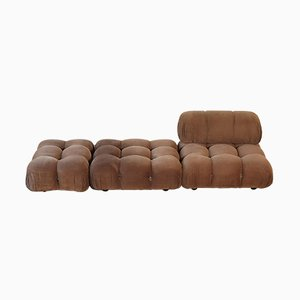 Italian Camaleonda Modular Sofa Seats by Mario Bellini for B&B Italia/C&B Italia, 1970s, Set of 3